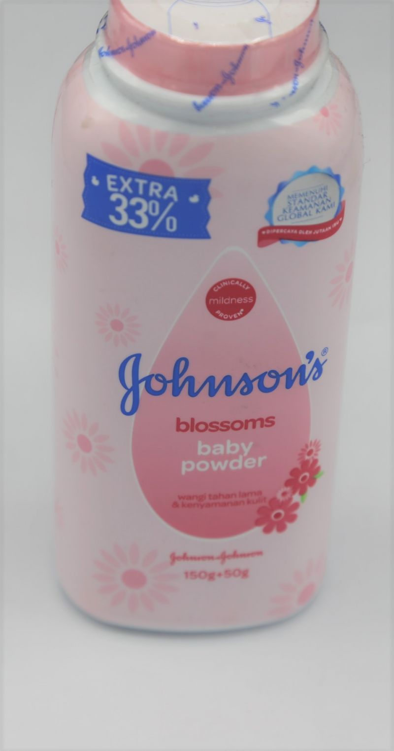 johnsons powder 200 g pink